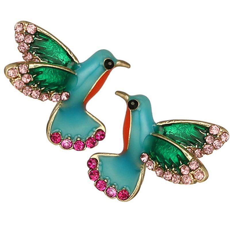 Candy Women Fashion Lovely Dynamic Bird Stud Earrings Jewelry Accessories By Mycsndice.