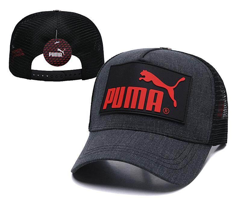 Pum Men cheetah letter Hot summer fashion baseball cap visor cap WTA breathable cap