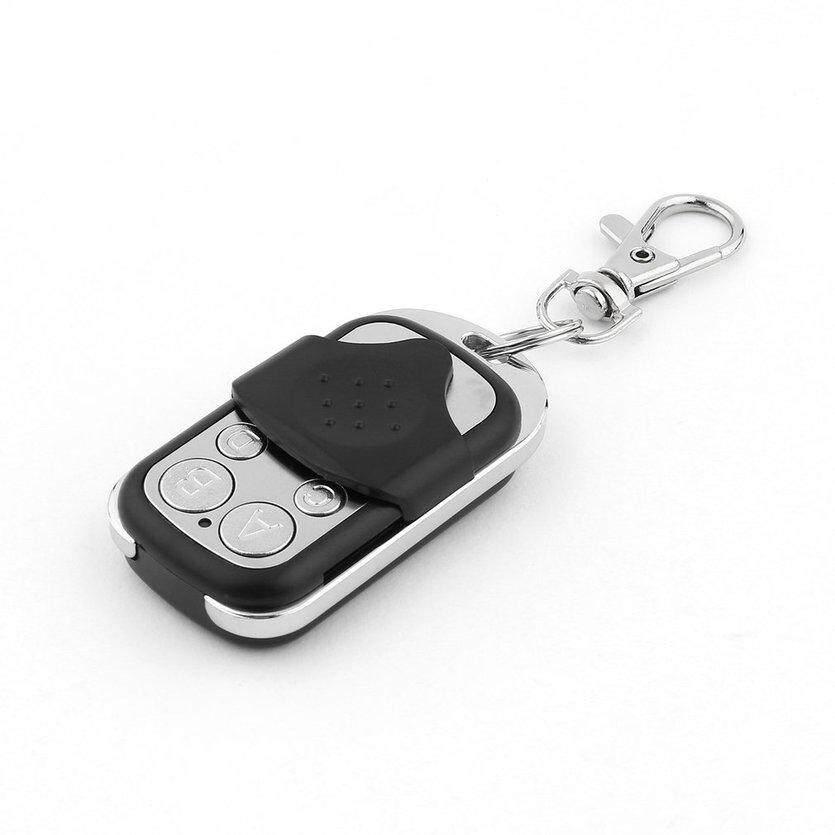 Ở đây RF Chìa Khóa Điều Khiển từ xa 4 Kênh ABCD Điện Nhà Để Xe Cửa Chìa Khóa Xe Ô Tô Móc Khóa