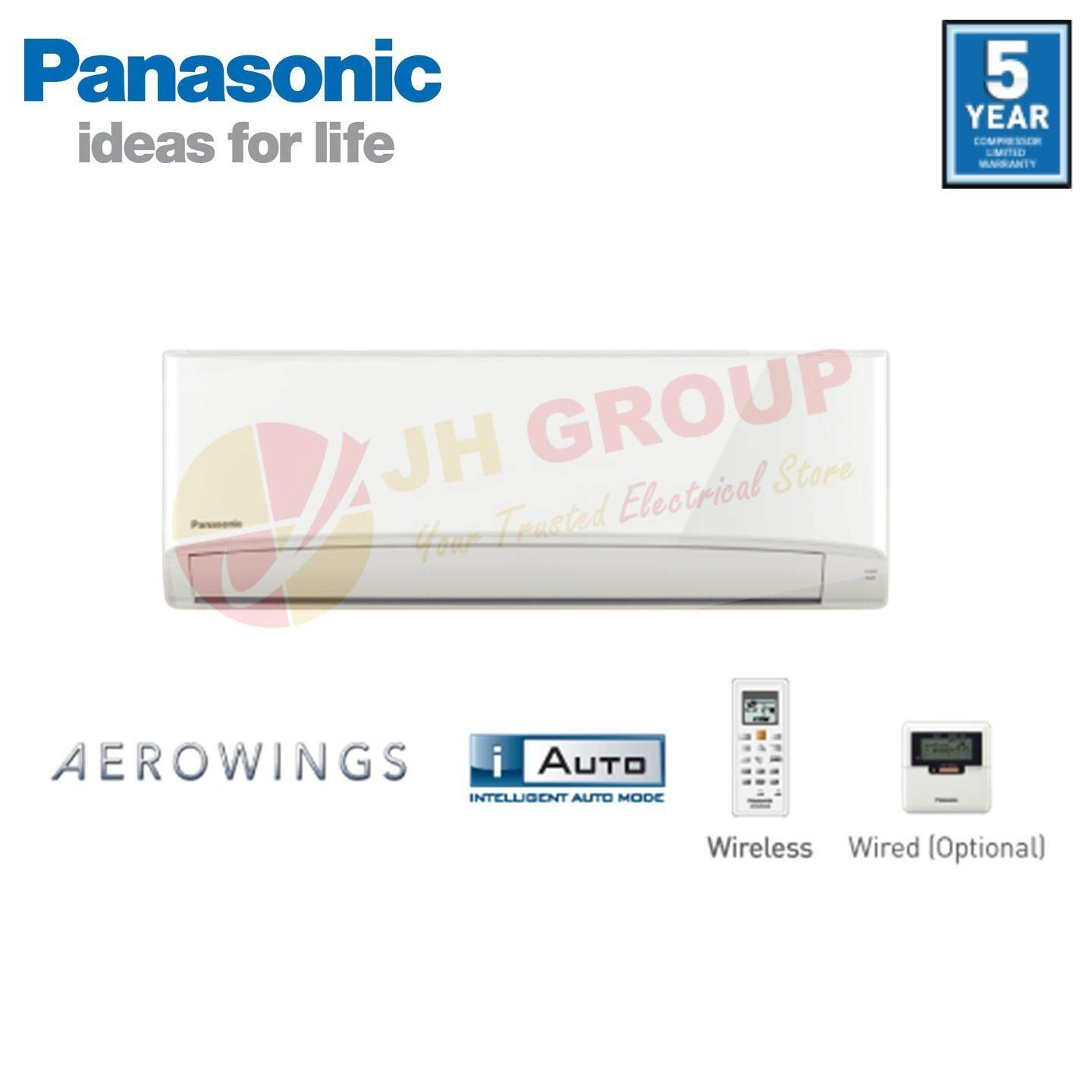 [ALL NEW] Panasonic 1.5HP Standard Non-Inverter Air Conditioner CS-PV12TKH /CU-PV12TKH