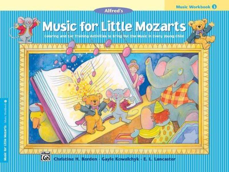 Music for Little Mozarts: Music Workbook 3 Malaysia