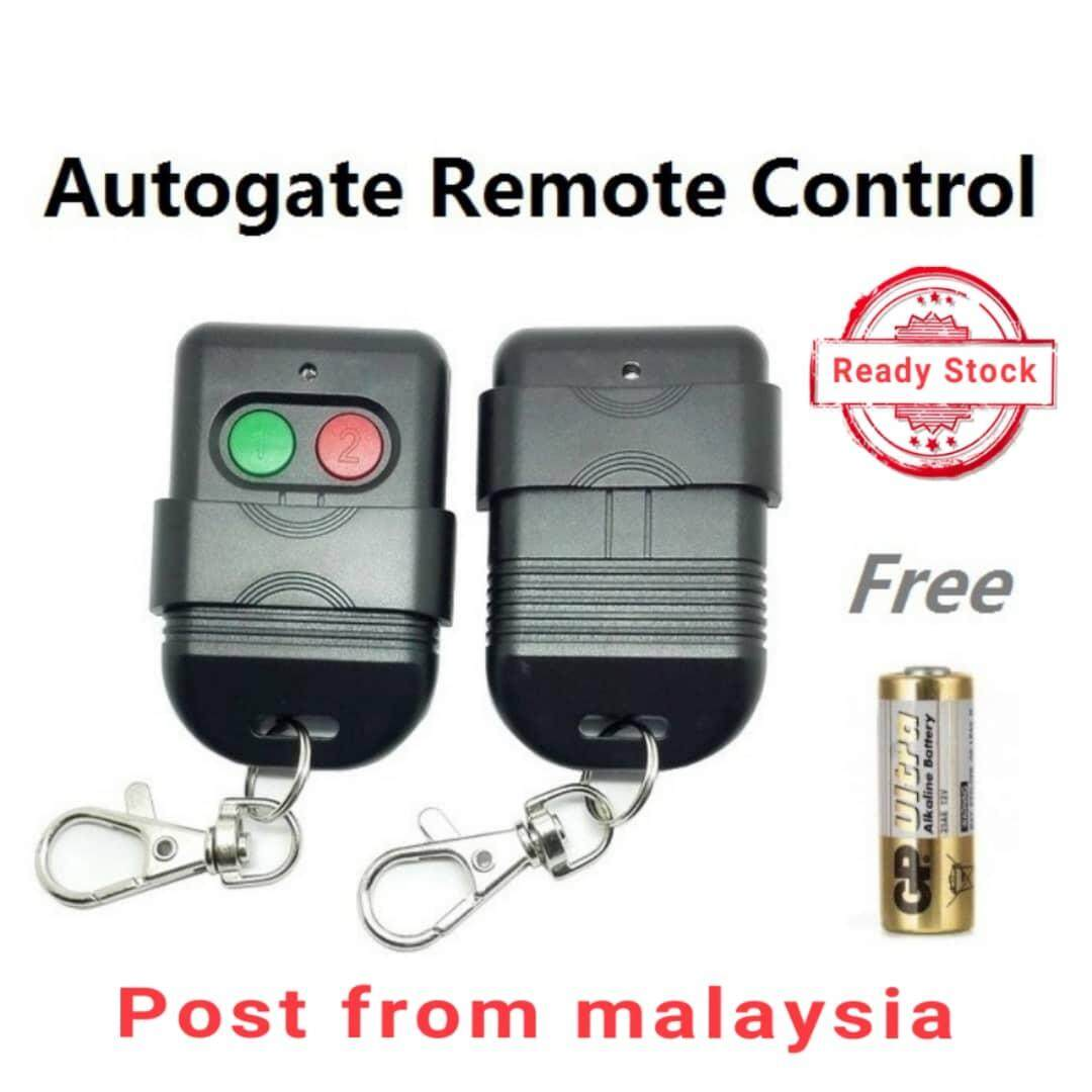 Autogate door remote control SMC5326 330Mhz 433Mhz auto gate controller (Battery Included)
