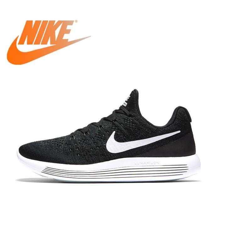 Original Authentic Nike_ LUNAREPIC LOW Flyknit 2 Mens Running Shoes 863779 Walking Jogging Sneakers Sport Outdoor 863779