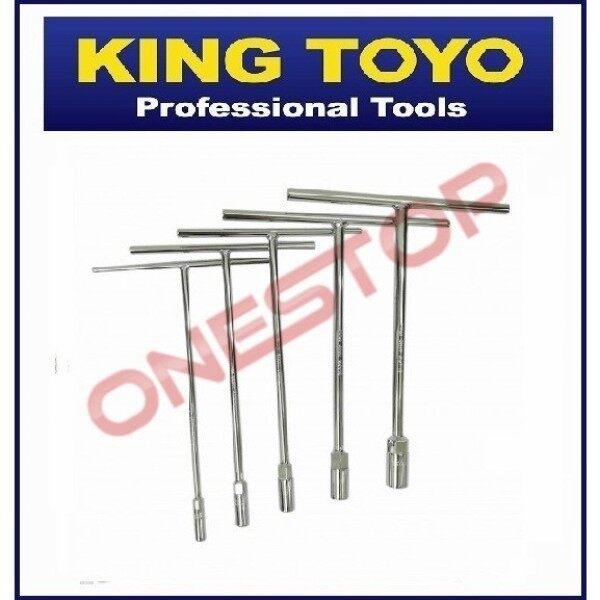 King Toyo T-Handle Socket / Long End Box Socket Wrench Heavy Duty , Spanner Tee , Tee Spanner