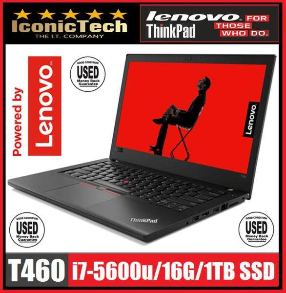 "IBM Lenovo Thinkpad T460 i7/16G/1TB-SSD/14""FHD Premium IPS Multi-touch (Used) Malaysia"