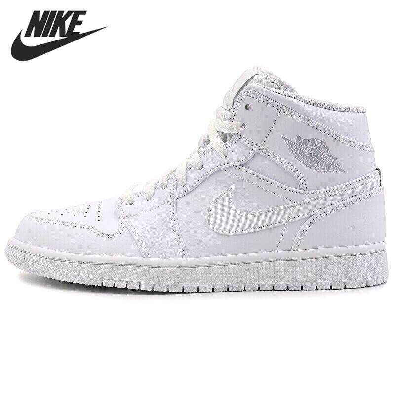 design intemporel f2c2a e261d Nike Air Jordan 1 Mid AJ1 MID Men's Basketball Shoes Breathable Comfortable  Sneakers #554724