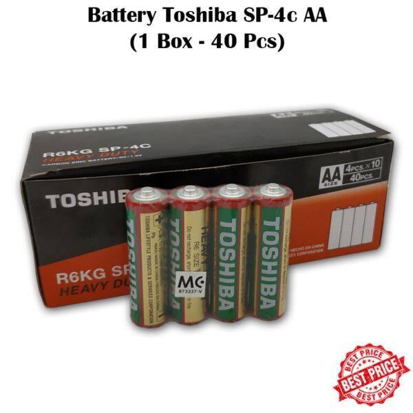 🔋ORIGINAL🔋TOSHIBA 1.5V Battery Size AA - 40(pc)s