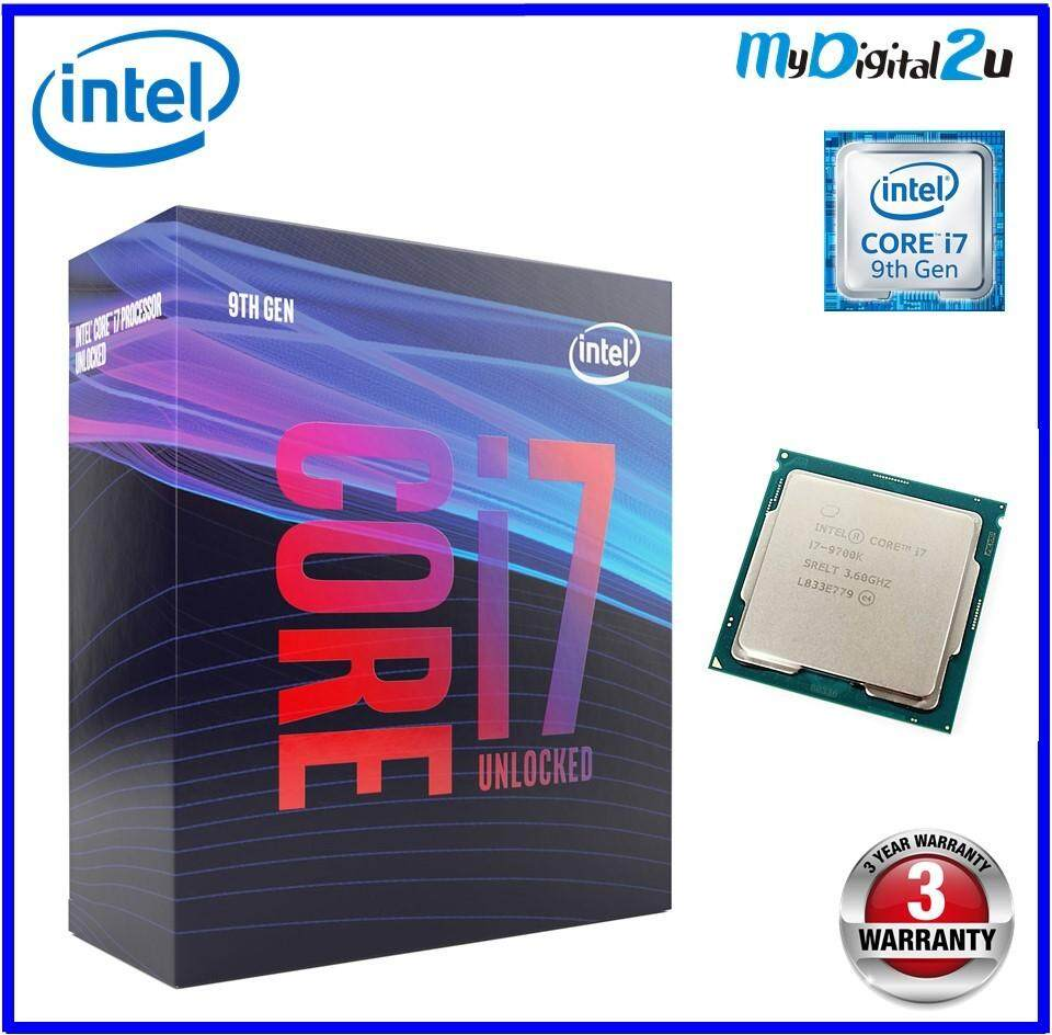Intel Core i7 9700K Processor 3.6GHz 8 Core 6MB Cache, up to 4.9 GHz Turbo Unlocked LGA1151