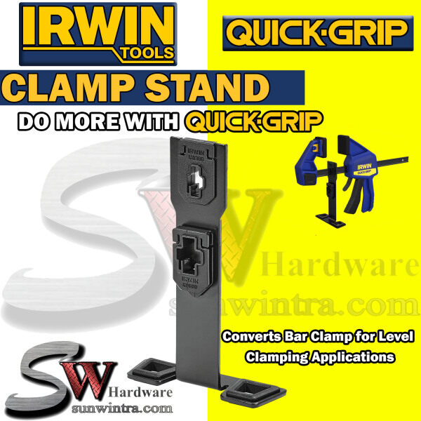 IRWIN QUICK GRIP™ Clamp Stand for Medium Duty and Heavy Duty Clamps #1964756