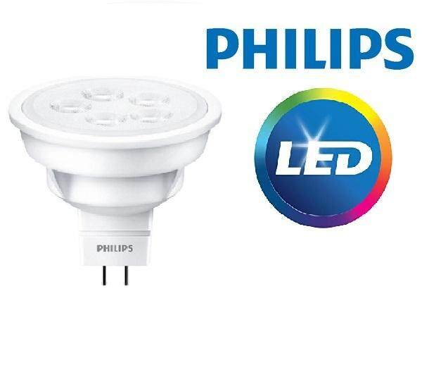 10 PCS - Philips Essential 4 5W LED MR16 100-240V *DIRECT* 36D (Warm white)  3000K