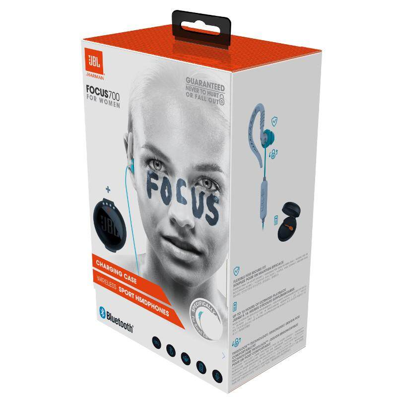 0efeb56cc2f JBL Focus 700 In-Ear Wireless Sport Headphones with charging case | Lazada