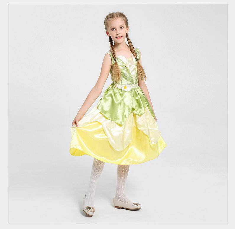 Halloween Kids Costume Cosplay Wizard of Oz Play Costume Girl Dress