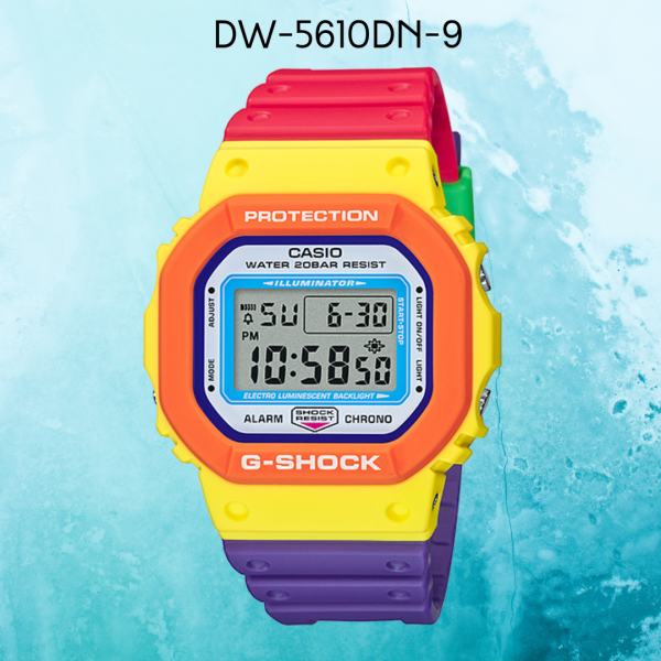 Casio G-Shock Special Color Models DW-5610DN-9 Mens Watch (Colourful) Malaysia