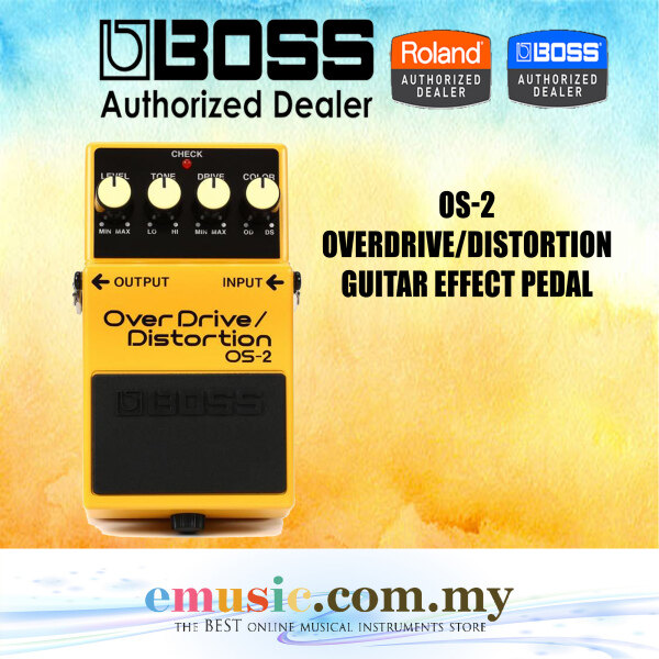 Boss OS-2 Overdrive / Distortion Guitar Effect Pedal (OS2) Malaysia