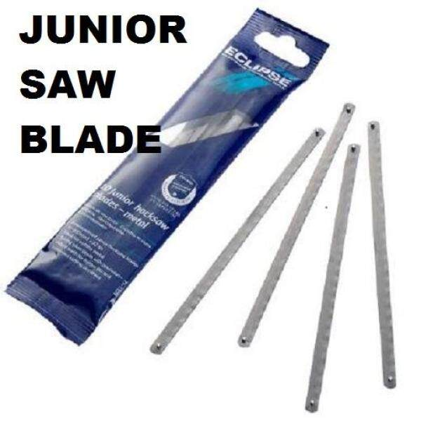 6 32TPI ECLIPSE JUNIOR HACKSAW BLADE HACK METAL BONE PLASTIC SAW