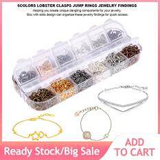 6Colors Alloy Jewelry Necklace Bracelet Making Findings Kit with Box