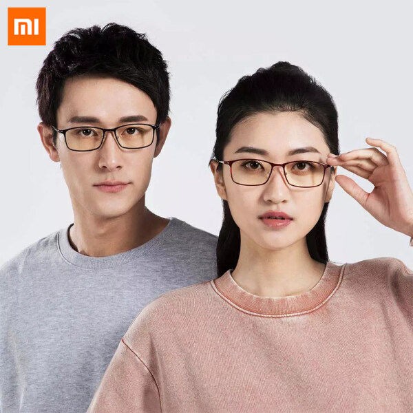 Giá bán Newest Xiaomi Mijia Anti-blue light goggles Blue light blocking rate gold plastic mixed frame Eye protection For Man Woman Play Phone/Computer/Game