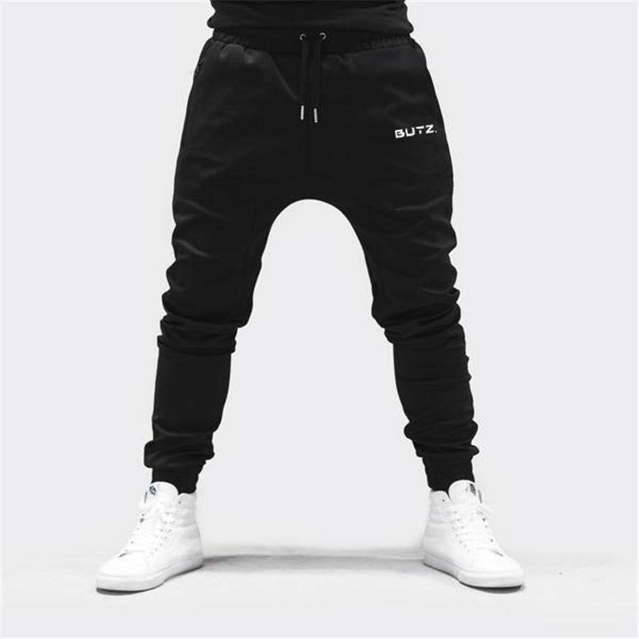 6883f030dee27 Winter Running Gym Pants Jogging Men Cotton Joggers Sweatpants Workout  Pants Bodybuilding Mens Gyms Brand Clothing