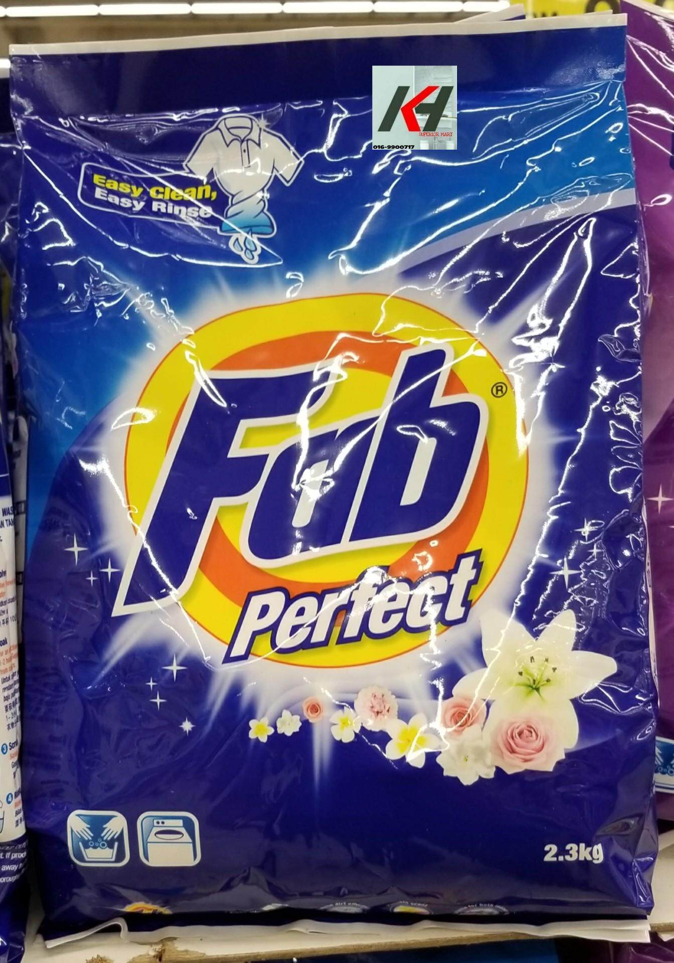 FAB PERFECT POWDER DETERGENT 2.3KG READY STOCK