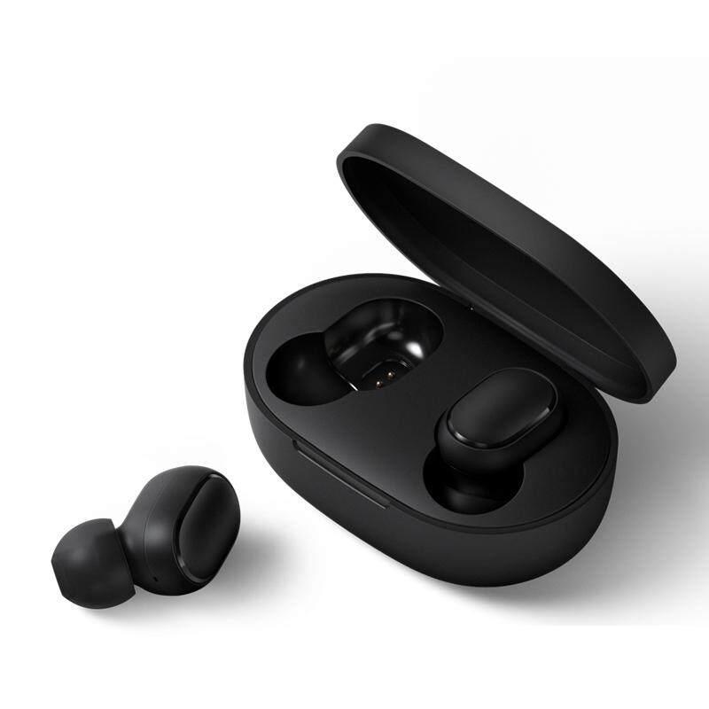 DIÊN QUÂN Tai Nghe Bluetooth dành cho Redmi Airdots Tai Nghe Nhét Tai Không Dây 5.0 TWS Tai Nghe Nhét Tai Loại Bỏ Tiếng Ồn Mic dành cho Xiaomi iPhone Huawei Samsung