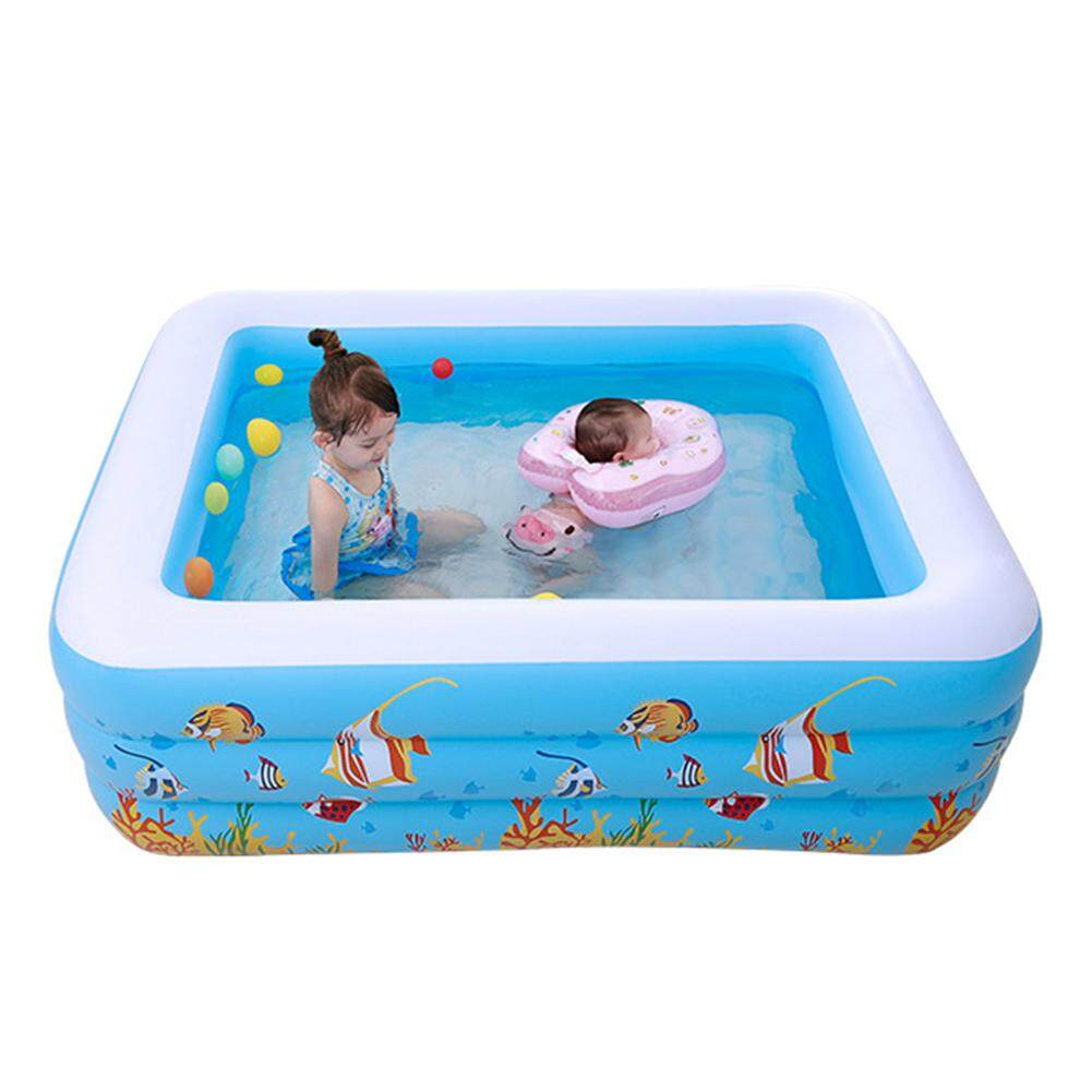 Inflatable Pool Kids Water Toys Family Baby Inflatable Swimming Pool Suitable for 1-3 People