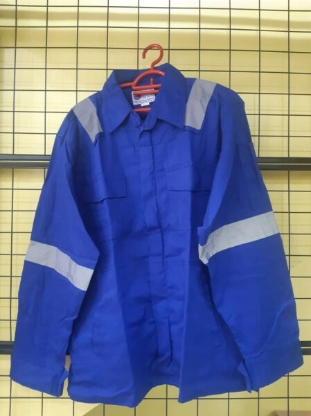 READY STOCK! SAFETY JACKET ZIP WITH REFLECTOR (exclusive work jacket)