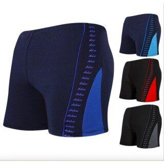 QTEL XL-XXXL Đàn Ông Cỡ Lớn Đồ Bơi Quần Bơi Kiểu Boxer Chuyên Nghiệp Cộng Phân Bón Đen Tam Giác In Chữ Cái thumbnail