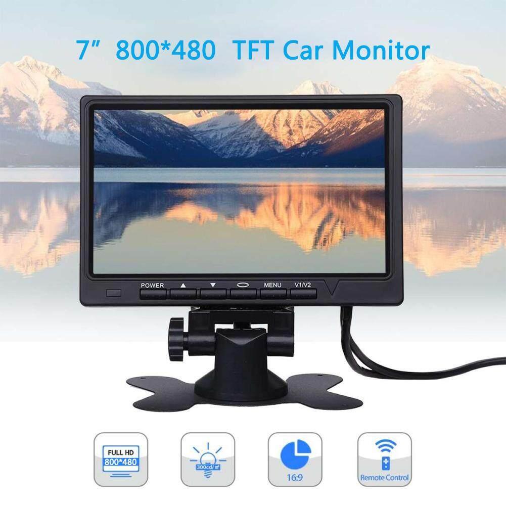 Offer Giảm Giá 7 Inch Xe Màn Hình 800*480 Màn Hình Màu TFT LCD Màn Hình Bãi Đậu Xe Hệ Thống Màn Hình Cho Lùi Xe Tự Động Phụ Kiện