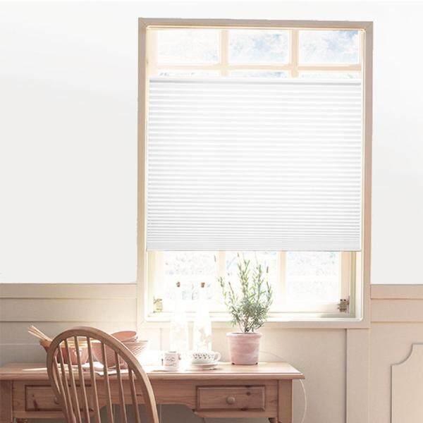 Rèm Cửa Xếp Ly Tự Dính Tấm Chắn Sáng Tấm Che Nửa Phòng Tấm Màn Cửa Sổ