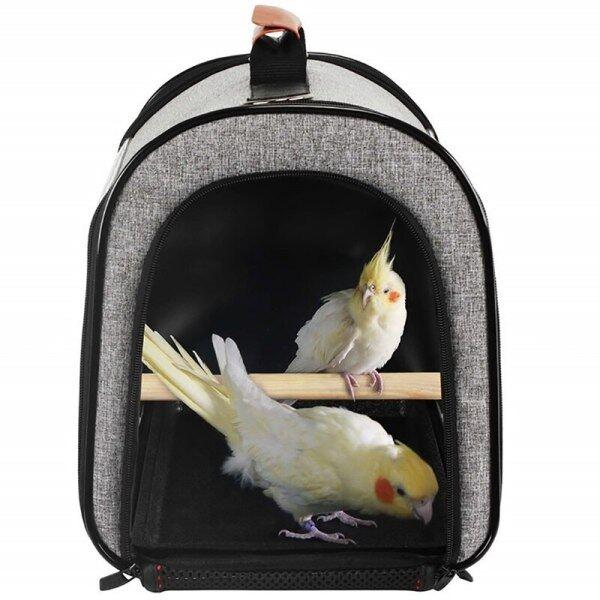 Túi Du Lịch Hình Chim, Hộp Đựng Vẹt Thú Cưng Tiện Dụng Lồng Du Lịch Thoáng Khí
