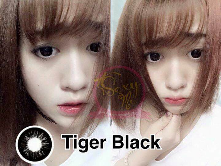Contact Lens - Tiger 16mm (black -0.00) By Cl_beauty.my.