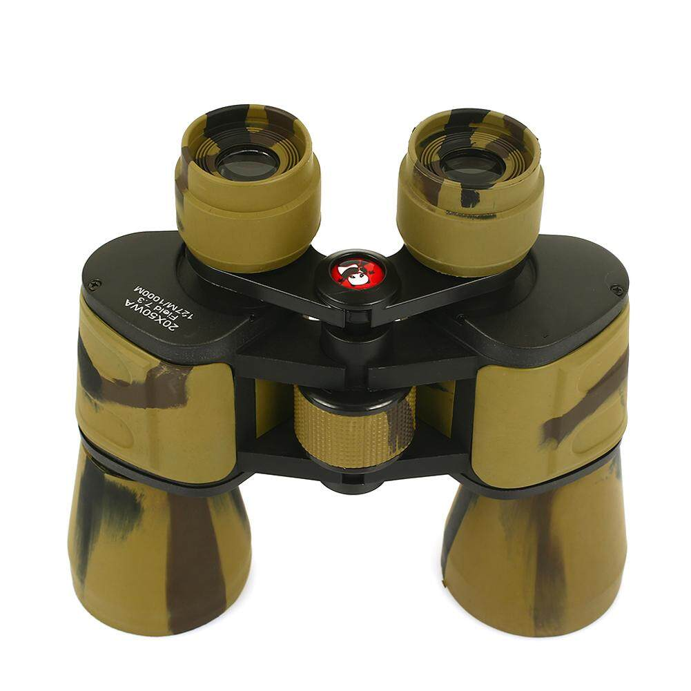 Simida Store Hunting Telescope Binoculars Practical Rubber 18mm Mountaineering Outdoor-Sand Fan By Simida Limited.