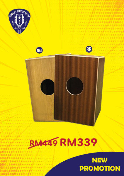 Box Drum Cajon Hand Drum Persussion Instrument Malaysia