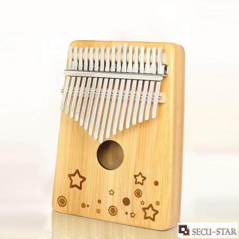 SECU-STAR Kalimba Phiên 17 Phím Ngón Đàn Piano Ngón Tay Piano Tay Đàn Piano Thân Tre Với Các Phụ Kiện Siêu Ưu Đãi tại Lazada