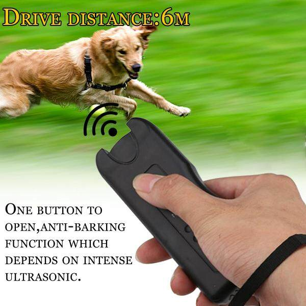 LED Siêu Âm Dog Repeller Thiết Bị Huấn Luyện Chó Cầm Tay Thiết Bị Huấn Luyện Chó 3 Trong 1 Chống Sủa Dừng Chó Công Cụ Đào Tạo Ngăn Chặn-