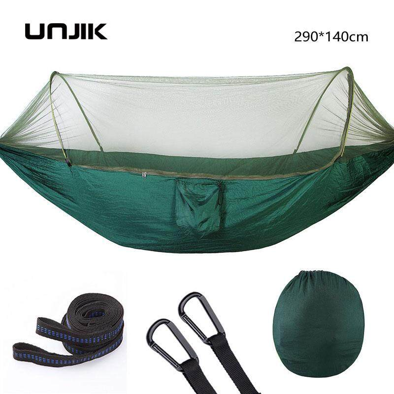 Ultralight Hammock Mosquito Net Double Person Sleeping Bed Drop-Shipping Outdoor Camping Portable Hammock 290X140CM