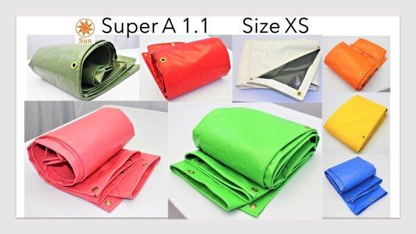 Super A1.1 Size XS 3.3ft x 6ft Multicolour PVC Tarpaulin Nylon Kanopi Khemah Kanvas Dinding Ready-Made Cover Lorry Canvas Canopy