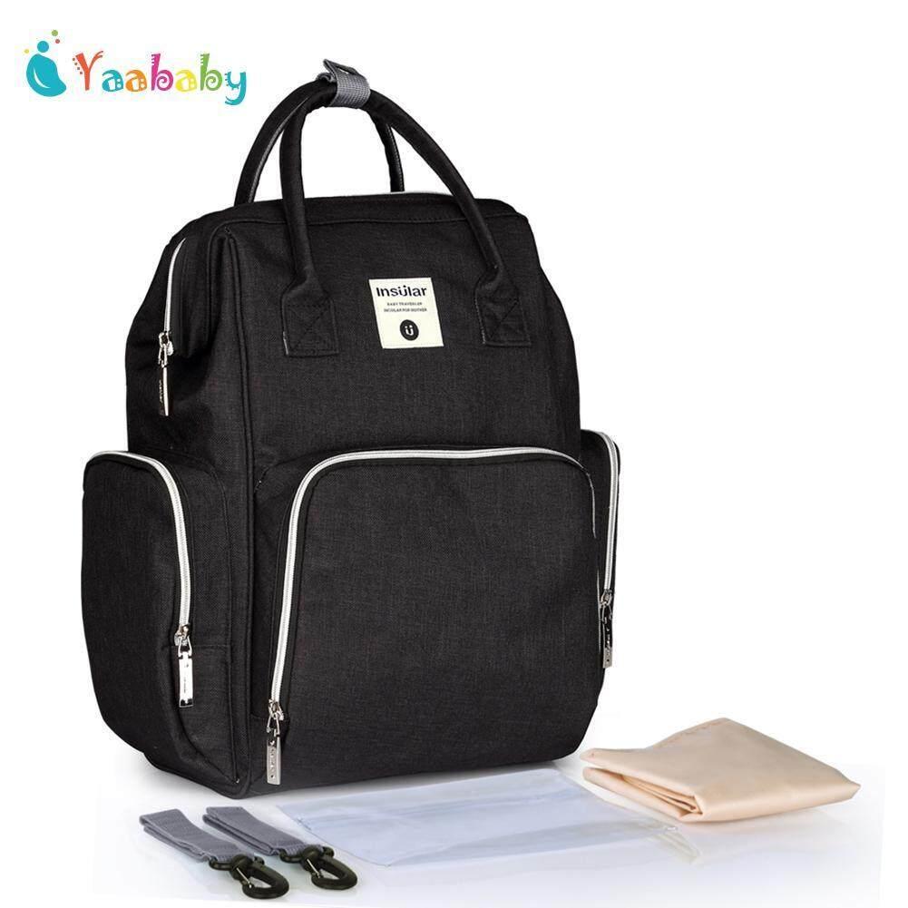 Yaababy Baby Care Diaper Bag Backpack Large Capacity Maternity Nursing Travel Bag