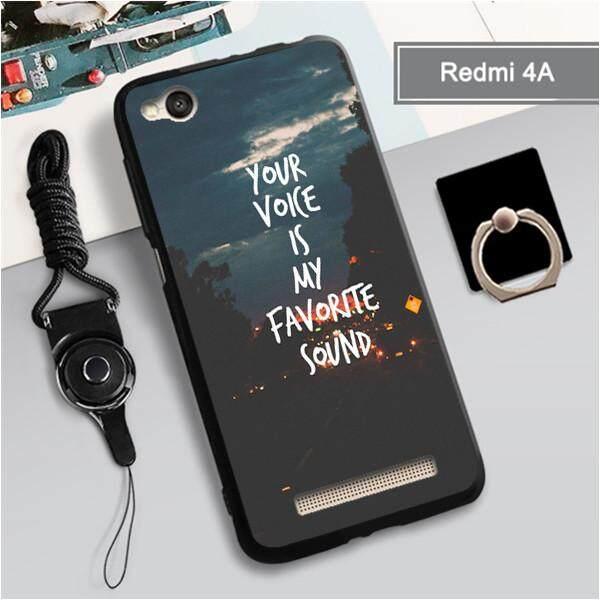 Untuk Xiaomi Redmi 4A Baru Kartun Hewan Yang Indah TPU Lembut Case Fashion Casing Ponsel Casing Kover 3in1