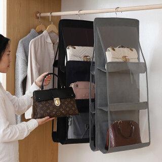 Túi Xách Treo Bỏ Túi Túi Đựng Đồ Cho Tủ Quần Áo Túi Đựng Đồ Trong Suốt Túi Đựng Giày Lặt Vặt Trong Suốt Gắn Tường Cửa Có Túi Treo thumbnail