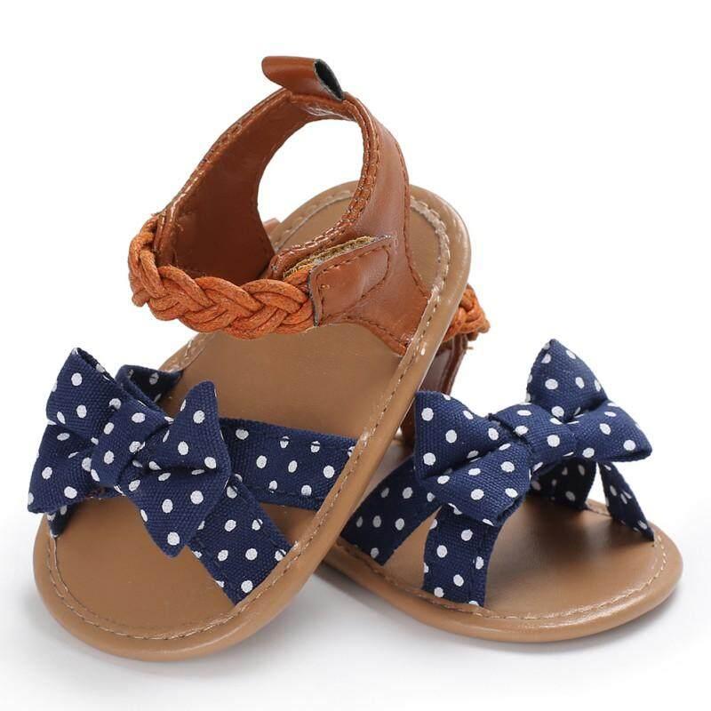 Infant Baby Girl Summer Sandals Anti-slip Flip-flop Toddler Kids Shoes Prewalker
