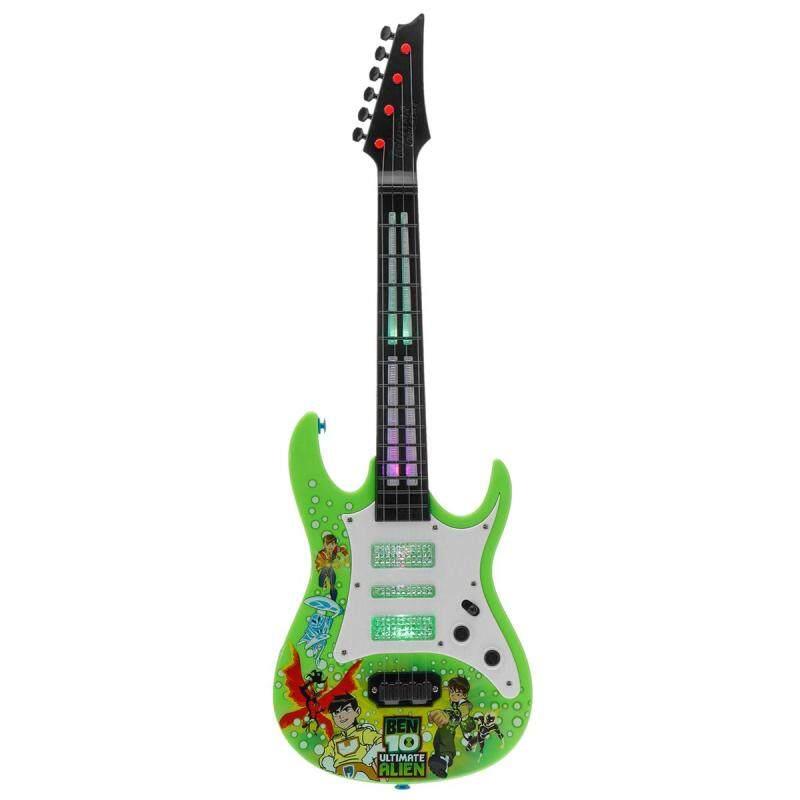 【Freebang】4 Strings Children Electric Guitar Musical Instrument Toys Creative Music Toys Mini Guitar Children Birthday Gifts Malaysia