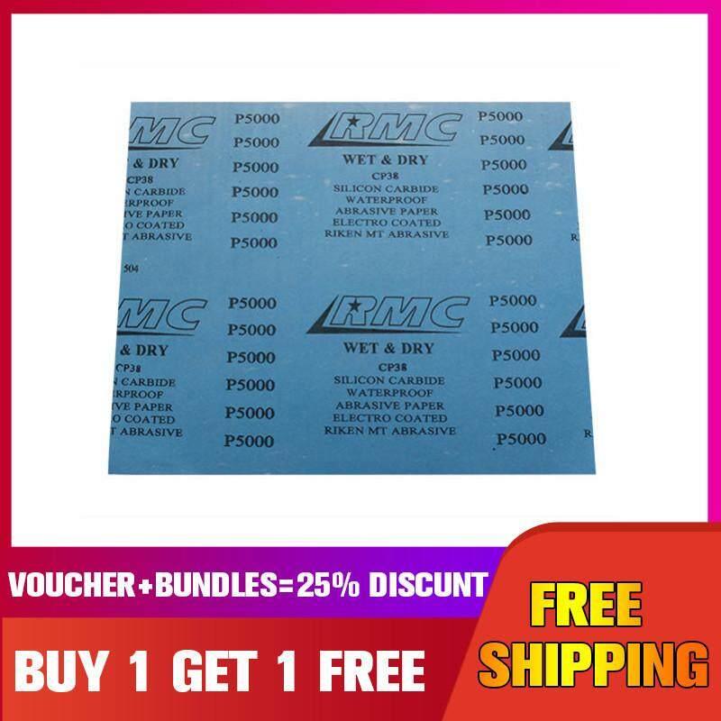 【Buy 1 Get 1 Free】 HILDA 280x230mm 5000 Grit Sandpaper Waterproof Abrasive Paper Abrasive Tool