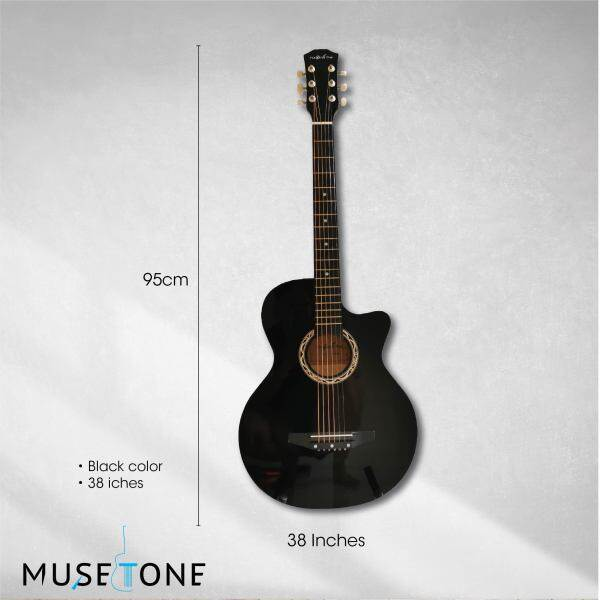 The Olive Tree 38 Acoustic Guitar Starter Pack best for beginner,BUY 1 FREE 8 SET / JUST BAG AND GUITAR Malaysia