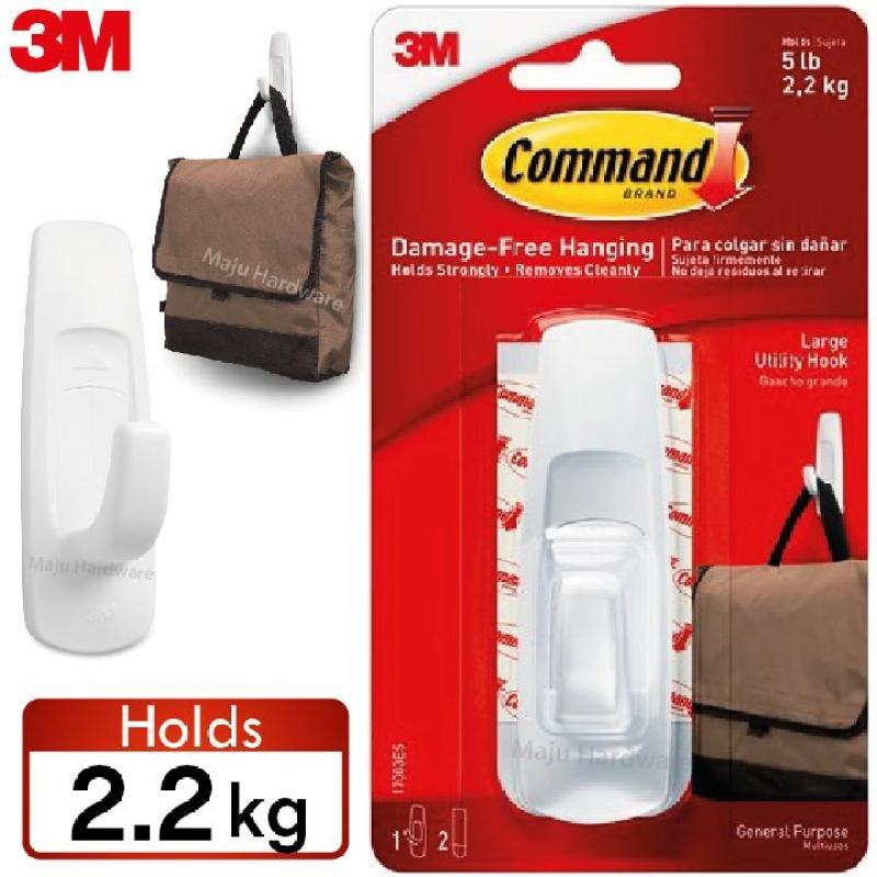 3M Command 17003 2.2kg Organize Hook Wall Organizer General Purpose