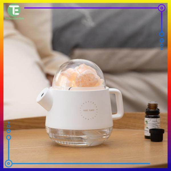 Wireless Charging Salt Stone Aromatherapy Machine Mute Humidifier ABS+PP+Silicone Ornament Singapore