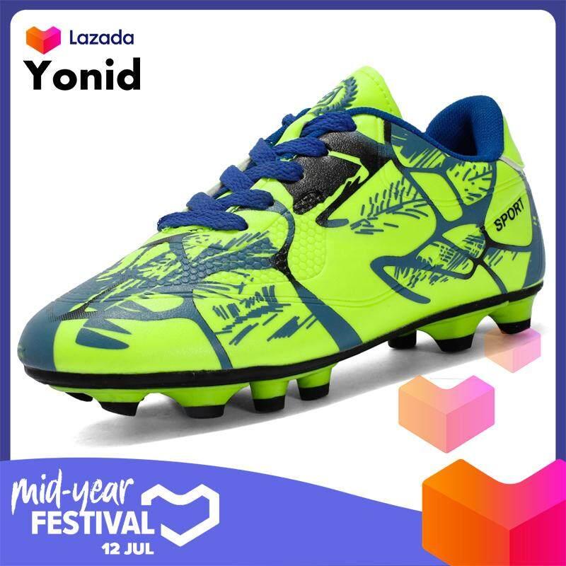Yonid Anak Ukuran 31-43 Sepatu Sepak Bola untuk Pria Sepatu Sepak Bola Gadis Sepatu