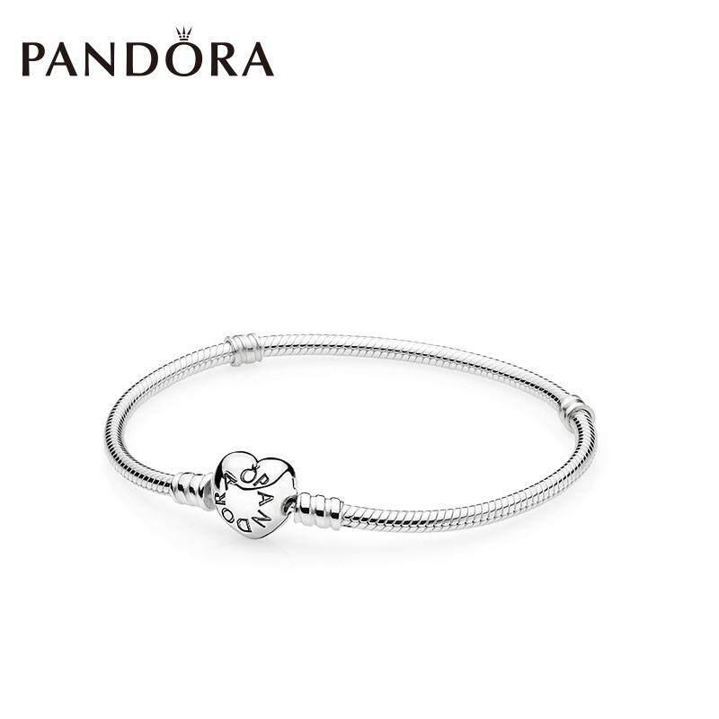 2d850d18c (Ready Stock) Original PANDORA Heart Buckle Bracelet 590719 Hand String  Pandora DIY Woman One