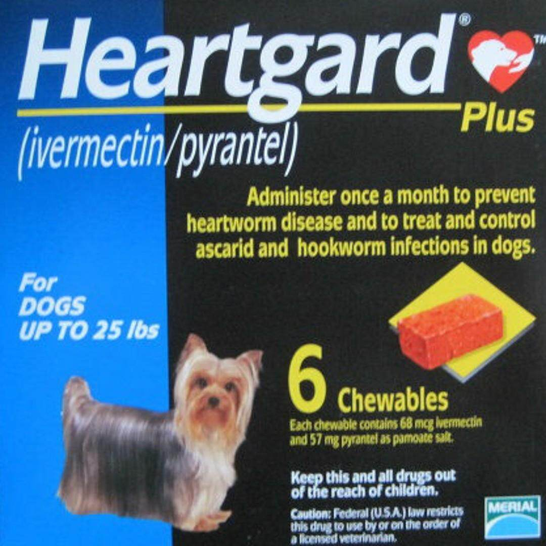 Heartguard Plus Chewables (blue) Up To 25lbs By Premium Pets Outlet [ppo].