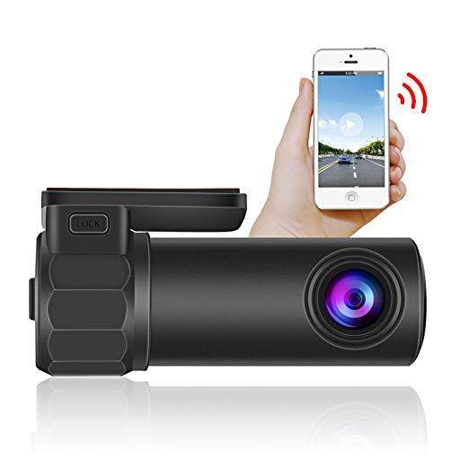 WIFI รถ DVR, mini 1080 P Full HD 12MP WIFI รถ DVR กล้องบันทึกวิดีโอ 170 องศา Dash Camera เครื่องบันทึกวีดีโอ Monitor